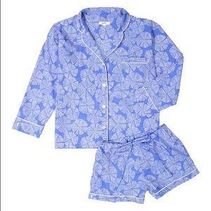 Marigot Intimates   Sleepwear - NWT Lorient Block Print Marine Pinwheel Pajama  Set afe36b634